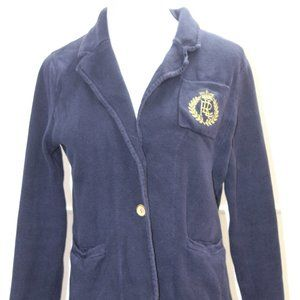 Lauren by Ralph Lauren Crest Cotton Blazer